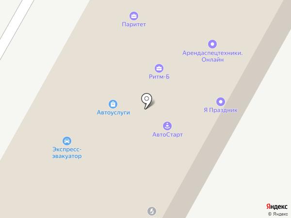 Гуманитарно-технический колледж на карте Ставрополя