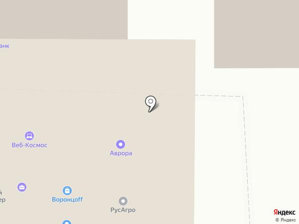 Воронцоff на карте Ставрополя