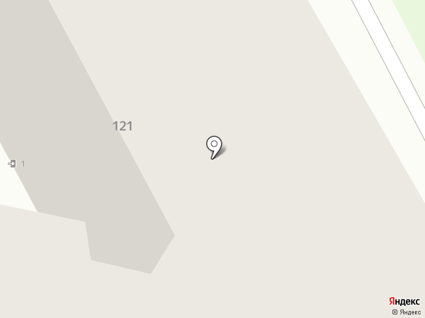 Парковый на карте Ставрополя