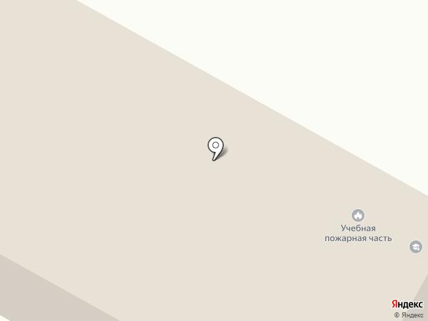 Учебная пожарная часть на карте Ставрополя