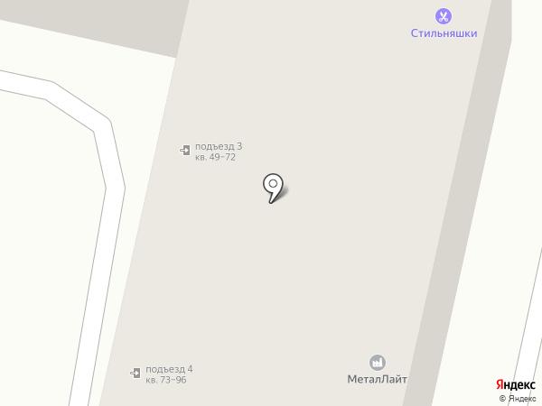 Купецъ на карте Ставрополя
