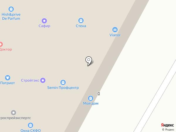 Isterio на карте Ставрополя