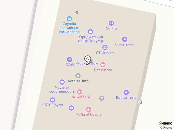 Триумф на карте Ставрополя