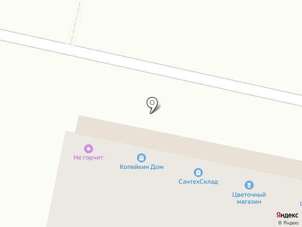 Дядя Фёдор на карте Ставрополя