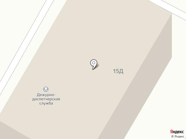 Комитет по делам ГО и ЧС на карте Ставрополя