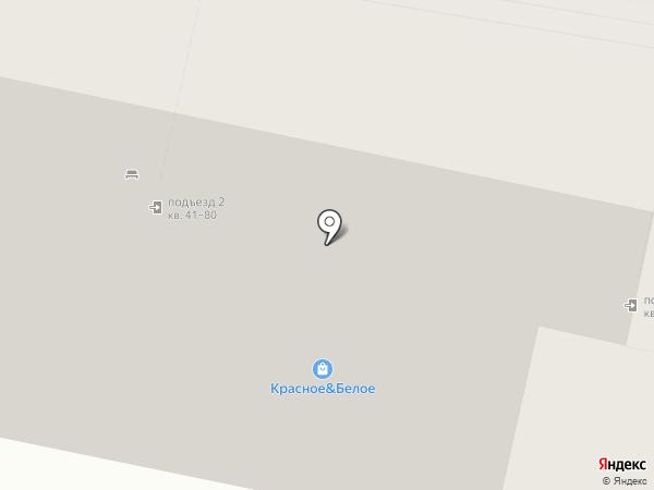 Кокетка на карте Ставрополя