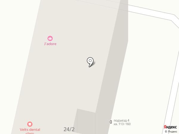 Раковая №1 на карте Ставрополя