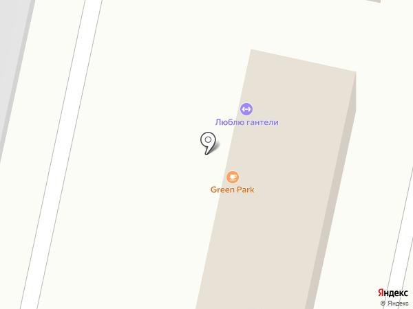 Автокомплекс на карте Ставрополя