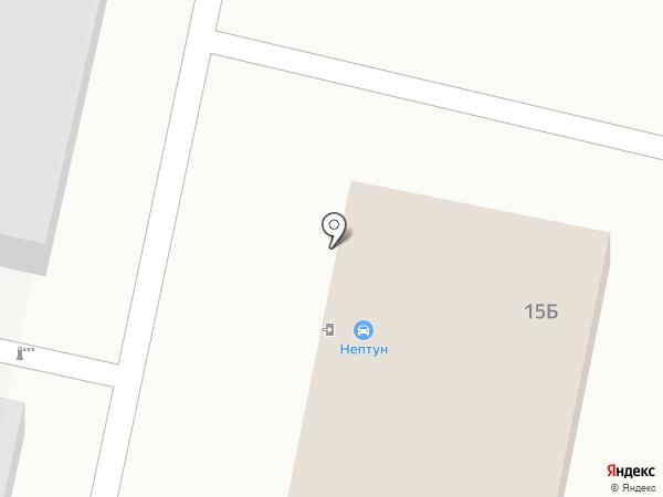 НЕПТУН на карте Ставрополя