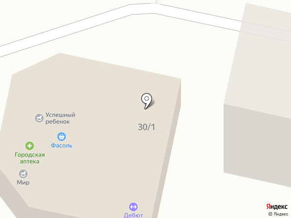Эль Деко на карте Ставрополя