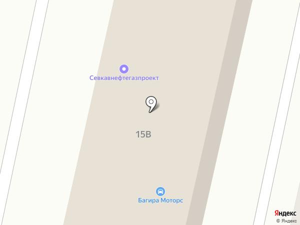 СевКавНефтеГазПроект на карте Ставрополя