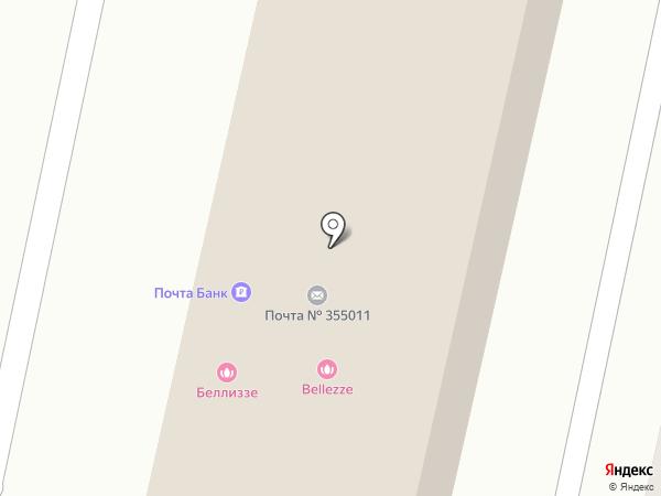 СтавАллюр на карте Ставрополя
