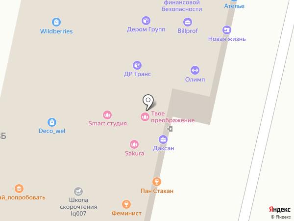 МИЛЯ на карте Ставрополя