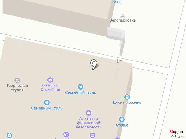 Конфетошка на карте Ставрополя