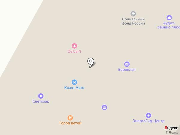 СБС на карте Ставрополя