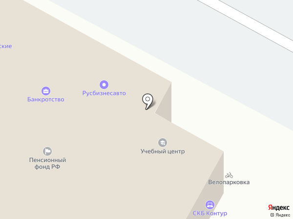 Техпромсервис на карте Ставрополя