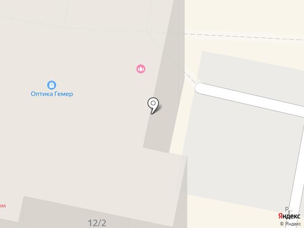 Паркетико на карте Ставрополя