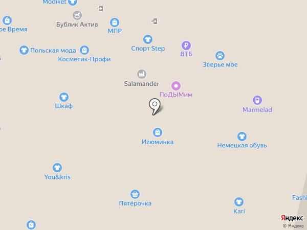 Банкомат, АЛЬФА-БАНК на карте Ставрополя