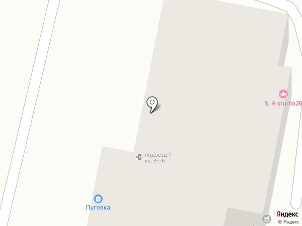 Дива на карте Ставрополя