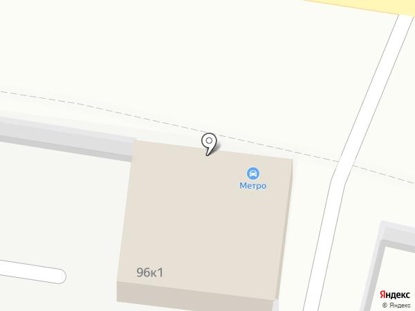 Метро на карте Ставрополя