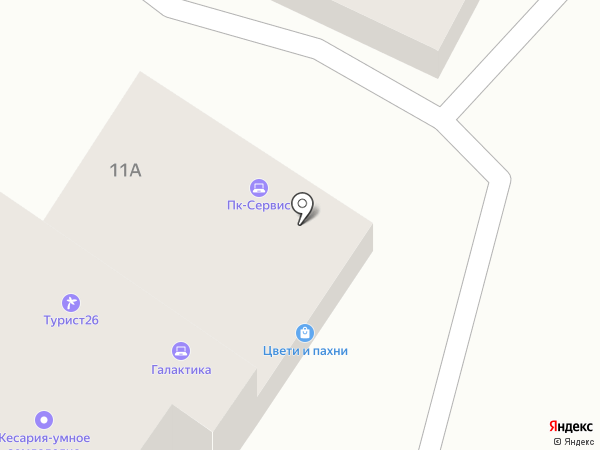 Хочу велик! на карте Ставрополя