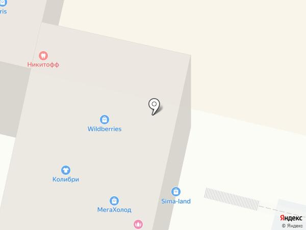 Кудесница на карте Ставрополя