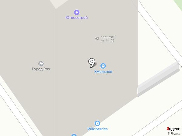 ЕВА-ФАРМ на карте Ставрополя