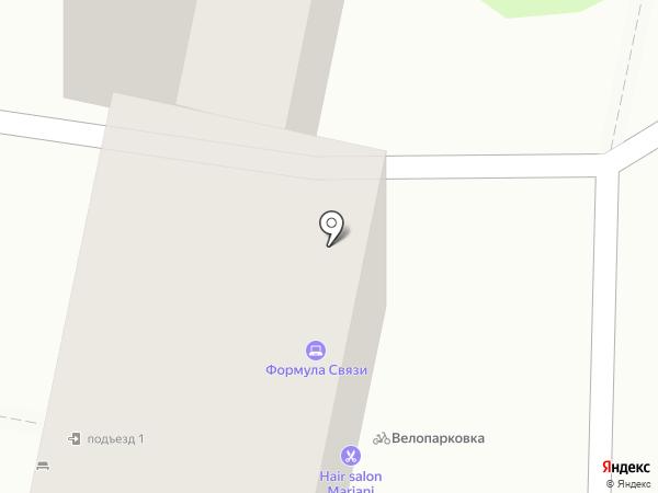 Медок на карте Ставрополя