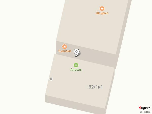 45-я параллель на карте Ставрополя