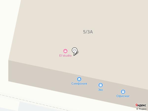 Пятёрочка на карте Ставрополя