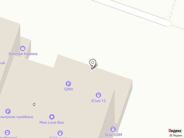 Банкомат, Россельхозбанк на карте Ставрополя