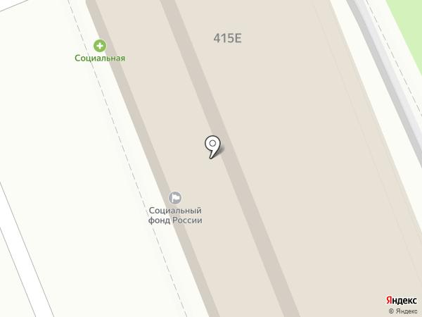 MAXI PIZZA на карте Ставрополя