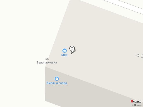 Мистер Пивнов на карте Ставрополя