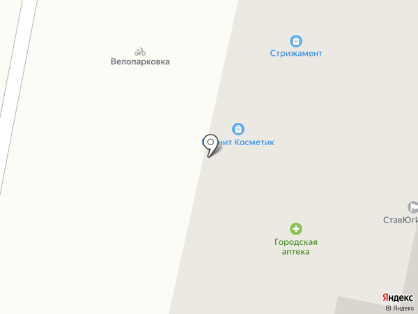 Магнит Косметик на карте Ставрополя