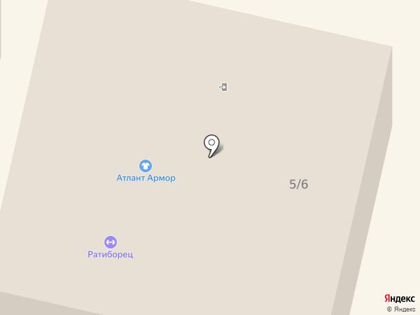 Ковры на карте Ставрополя