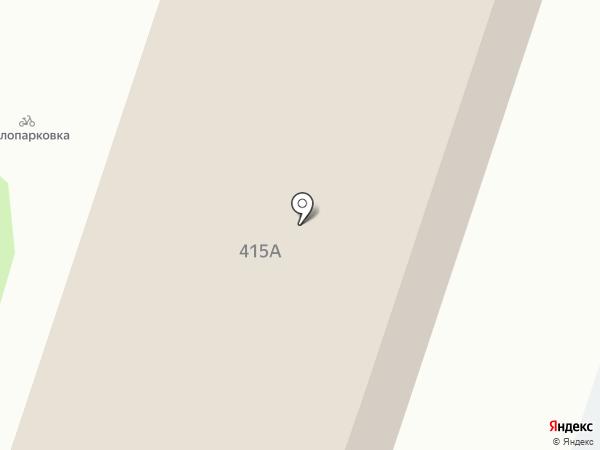 Синергия на карте Ставрополя