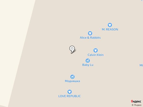 Паршин на карте Ставрополя