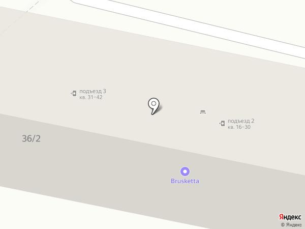 Казачок на карте Ставрополя