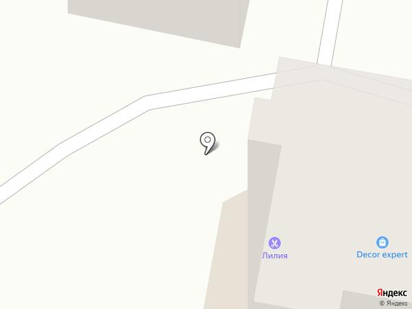 Аккорд на карте Ставрополя