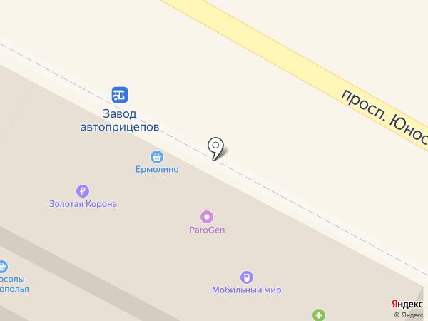 Мобильный мир на карте Ставрополя