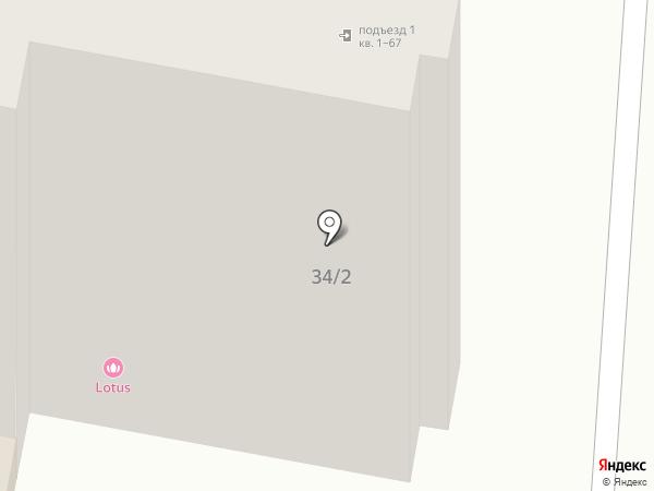 Элизабет на карте Ставрополя
