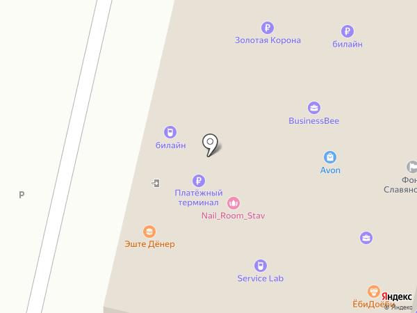 АМАЛЬГАМА СК на карте Ставрополя
