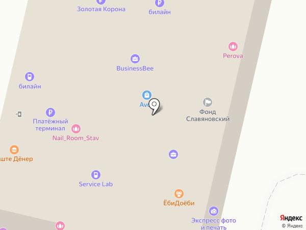 Mirra на карте Ставрополя
