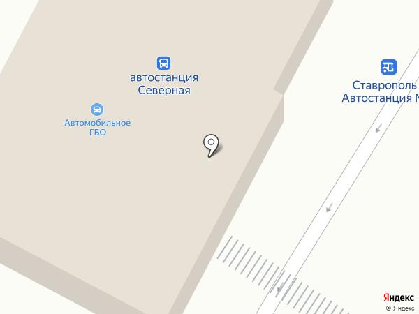КОНСУЛ-СТАВРОС на карте Ставрополя