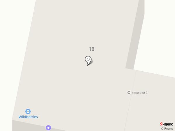 Опора на карте Ставрополя