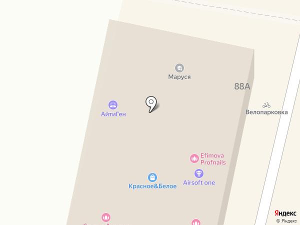 Калибр 6.03 на карте Ставрополя