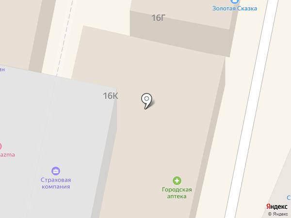 Агрокомплекс на карте Ставрополя