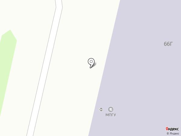 Профильная школа, АНО на карте Ставрополя