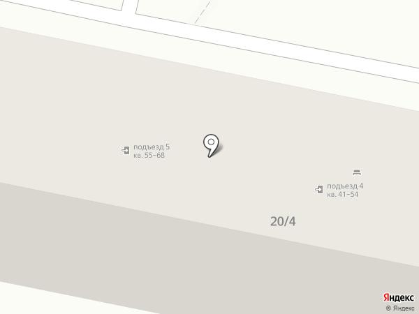 Южный Крест на карте Ставрополя