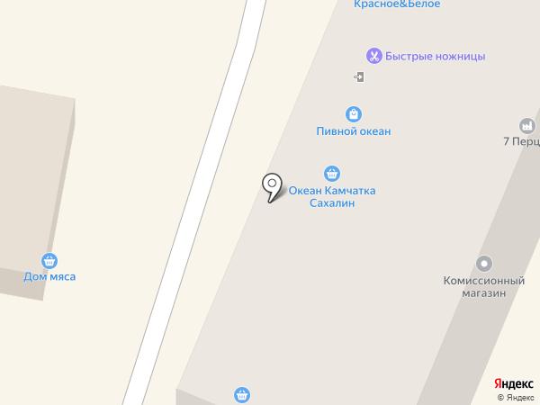 Зефир на карте Ставрополя